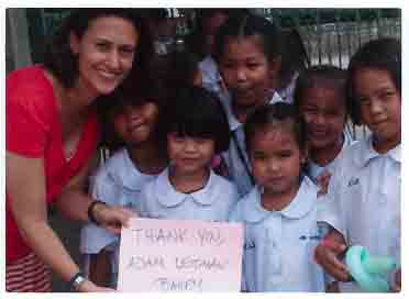 Adam Leitman Bailey, P.C. is proud to support the mission to teach English at Wat Wetawantamawas School in Bangkok, Thailand.