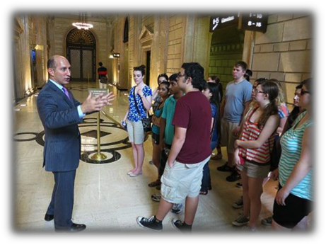 Adam Leitman Bailey Gives Tour of Wall Street to New Milford High School Students – 2013